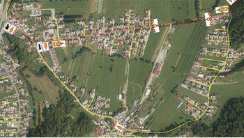 Popolna zapora ceste zaradi del - Vnanje Gorice - Nova pot
