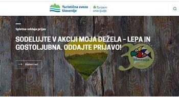 Razpis Moja dežela - lepa in gostoljubna 2021 - Turistična zveza Slovenije