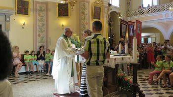 Na Dobrovi izrazili veliko hvaležnost župniku Alojziju Golobu