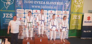 Maša Slavinec državna prvakinja  v Judu pri mlajših kadetinjah