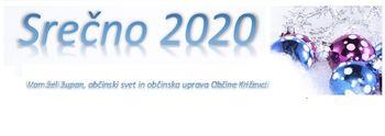 Voščilo župana ob prihajajočem letu 2020