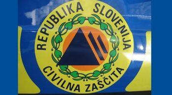 Obvestilo civilne zaščite o vprašanjih glede omejitve gibanja občanov.