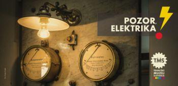 Voden ogled razstave Pozor, elektrika!
