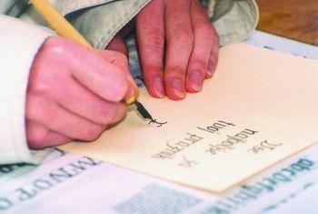 Spoznajmo kaligrafijo