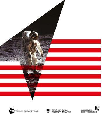 Voden ogled razstave Človek na Luni za družine