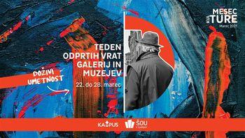 Teden odprtih vrat muzejev in galerij za študente