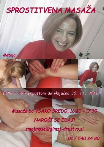 Sprostitvena masaža proti stresu in notranji napetosti