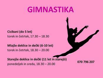 Športna gimnastika - otroku le najboljše!