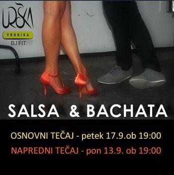 PLESNA ŠOLA URŠKA VRHNIKA - SALSA & BACHATA