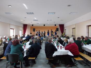 Srečanje starejših občanov nad 70 let v Gornjih Petrovcih