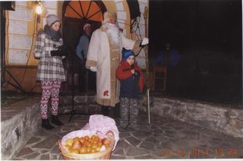 Dedek mraz v Adrijancih
