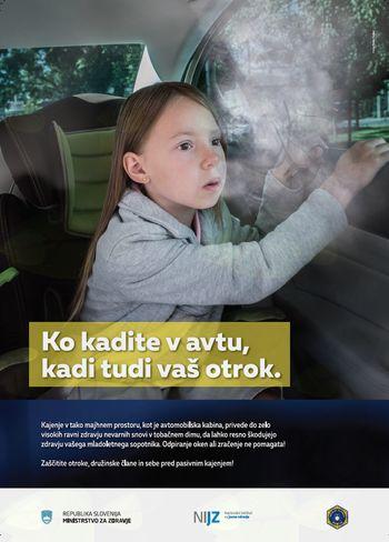 Pasivno kajenje škoduje zdravju otrok in odraslih