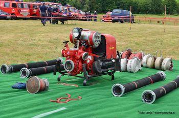 Občinsko gasilsko tekmovanje v Lucovi