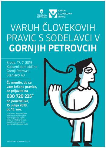Varuh človekovih pravic v Gornjih Petrovcih