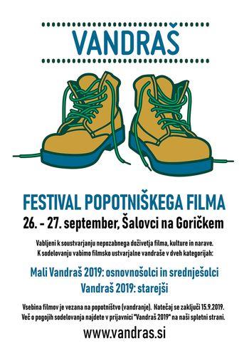 Festival potopisnega dokumentarnega filma VANDRAŠ - prijava na natečaj