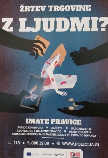 Kampanja na področju boja proti trgovini z ljudmi