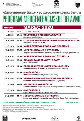 Dejavnosti na Eko-socialni kmetiji v Šalovcih v mesecu marcu