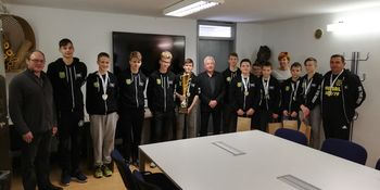 Sprejem državnih prvakov ekipe U15 ŠD Extrem
