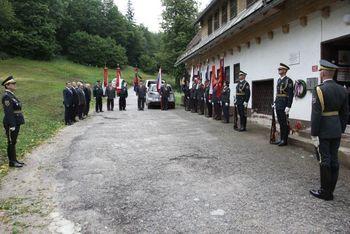 80 let od ustanovitve Ribniške čete na Travni gori