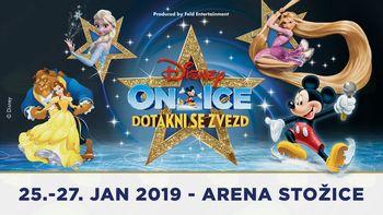 Akrobatski spektakel Disneyevih junakov na ledenem odru - Disney on Ice predstavlja Dotakni se zvezd!