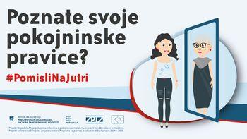 Kako dobro poznate pokojninski sistem v Sloveniji?
