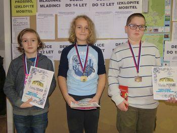 Posamično prvestvo ljubljanske regije v šahu  2018