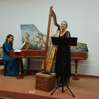 Mojstrski tečaj baročnega petja z mezzosoprarnistko in harfistko  Tanjo Vogrin