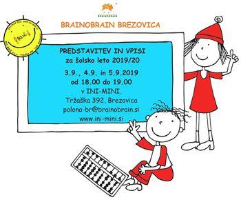Brainobrain predstavitvene delavnice in vpisi