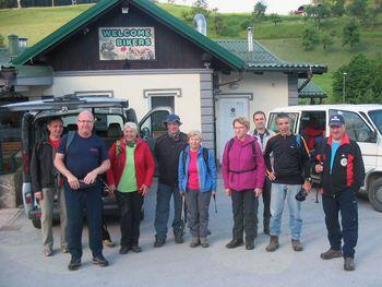 Očiščevalna akcija planinskih poti