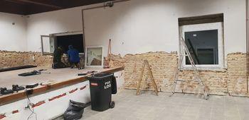 Zaključen prvi del obnove dvorane PGD Log