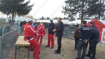 Ekipa prve pomoči CZ Občine Miren-Kostanjevica pomagala v Dobovi