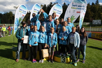 Učenke OŠ Sevnica so državne prvakinje v atletiki