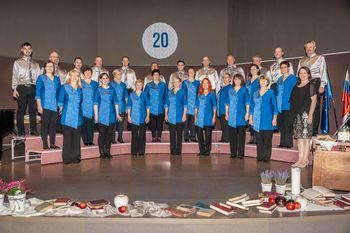 Koncert ob 20. letnici delovanja Mešanega pevskega zbora Kulturnega društva Nazarje
