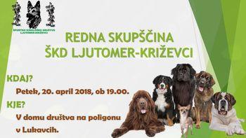 REDNA SKUPŠČINA Športnega kinološkega društva Ljutomer-Križevci
