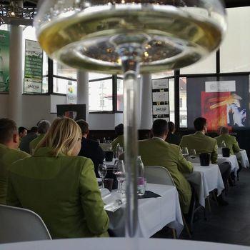 Sommelierji izbirali vina k prleški gibanici
