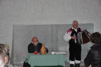 Literarni večer Prgišče duše z Markom Kočarjem in Stankom Ilješem