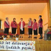 Deset let ohranjanja ljudske pesmi v Vučji vasi