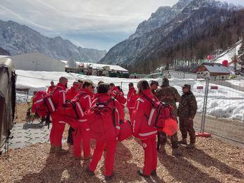 Članice ekipe prve pomoči v Planici