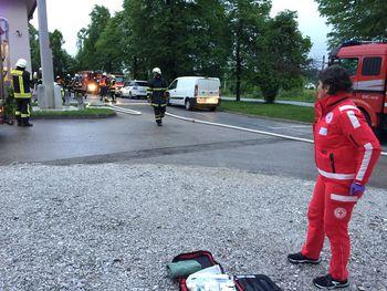 Ekipa prve pomoči na vaji gašenja požara
