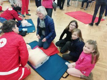 Brezplačna delavnica temeljnih postopkov oživljanja in uporabe defibrilatorja
