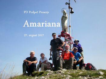 FOTOREPORTAŽA: PD Podpeč Preserje na Amariani  27. 8. 2017