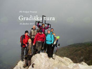 FOTOREPORTAŽA: PD Podpeč - Preserje na Gradiški Turi 29. 10. 2017