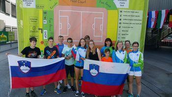 Tretje mesto Orientacijskega kluba Komenda na Svetovnih igrah v Celovcu