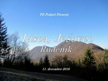 FOTOREPORTAŽA: Izlet PD Podpeč Preserje iz Prapretna na Lisco  11. 12. 2016