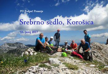 FOTOREPORTAŽA: PD Podpeč Preserje na Srebrnem sedlu 11. 6. 2017