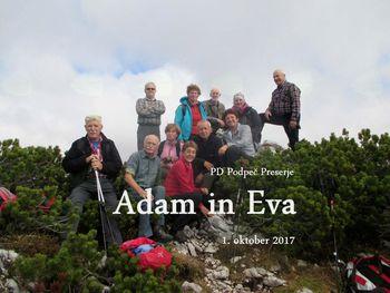 FOTOREPORTAŽA: PD Podpeč Preserje na Adamu in Evi 1.10.2017