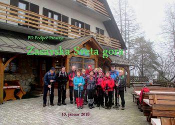 FOTOREPORTAŽA: PD Podpeč Preserje od Geossa do Zasavske Svete gore  10.1.2018
