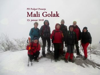FOTOREPORTAŽA: PD Podpeč Preserje na Malem Golaku  13.1.2018
