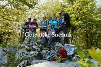 FOTOREPORTAŽA : Izlet veteranov PD na Goteniški Snežnik  9. 5. 2018