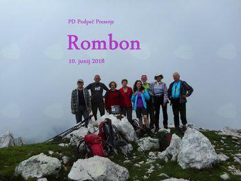 PD na Rombonu  10. 6. 2018
